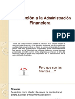 Introducción a La Administración Financiera