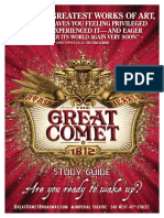 The Great Comet- Study Guide