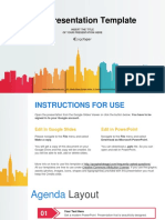 City buildings silhouettes colors Google Slides Presentation.pptx