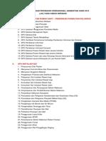 Daftar Spo Akreditasi Kars