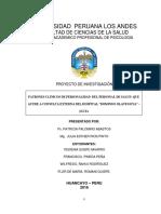Proyecto Patrones Clinicos Del Personal 18 de Julio