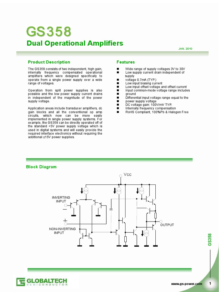 Gs358 globaltech operational amplifier amplifier pooptronica Images