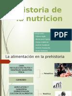 Exposición 1 - Historia de la Nutricion hasta el siglo XVIII