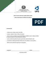Prova Quc3admica Geral-2 2012