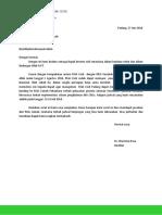 Surat RSIA Zainab