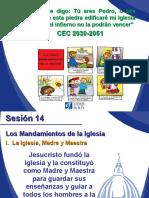 Sesión 14 Modulo 8 Los Mandamientos - Diplomado Fe y Catequesis