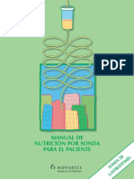 Manual Nutricion Por Sonda Paciente Gastrostomia