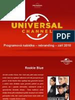 Universal Channel Program - Launch v2