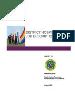D H Staffing Pattern