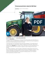Matthew Reimer Tractor Autonomus