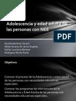 Adolescencia y edad adulta de las personas con NEE.pptx