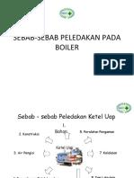 6. Sebab-sebab Peledakan Pada Boiler