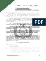 DS 611 -25Ago2010 - Modif beneficios establecidos en los DS 28476 y N° 28875, ESCALAFÓN MEDICOS