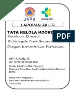 Afif Alfian-Tata Kelola Koordinasi Pemulihan Ekonomi Di Wilayah Pasca Bencana Dengan Kementerian Pertanian