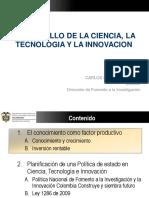 Política Nacional de Ciencia Tecnología e Innovación