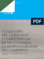 10. EABIS. Cualidades Del Liderazgo y Competencias de Gestión Para La Responsabilidad de La Empresa.