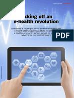 Kicking Off an E-health Revolution