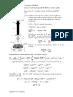 Calculando el pH final  en la valoración de un ácido débil con un base fuerte-1