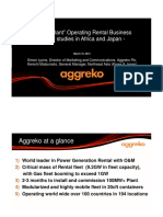 Aggreko business case study
