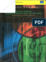 Electronics Communication System Tomasi 5th Ed.