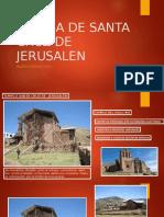 Iglesia Santa Cruz Juli