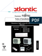 Atlantic Fujitsu Notice d Installation