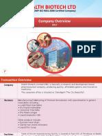 HBL 1 Company Profile