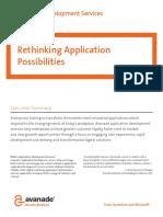 Enterprise Application Development Brochure