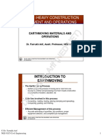 Earthmoving Materials and Operations [Compatibility Mode]