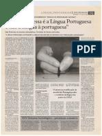 O que interessa é a Língua Portuguesa