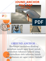 45. Pile Cap Dan Ground Anchor