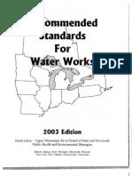 Ten State Standards (Water)2003