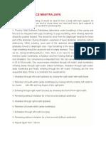 How to practice Mantra Japa.docx