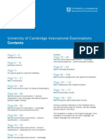 CIE 2010 Handbook for Centres - IGCSE - O-levels - A-Levels