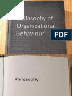Philosophy of OB