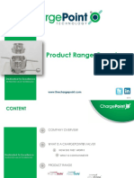 Product Range Overview - ChargePoint Technology, 2013