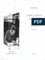 BENJAMIN, W. - Desembalo Mi Biblioteca - El Arte De Coleccionar.pdf