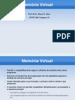 Sistemas Operacionais - Memória Virtual