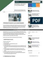 Http Valves Indonesia Blogspot Co Id 2016 06 Prosedur Online Valve Maintenance Cara HTML