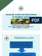 3.Sanitasi Makanan Di RS
