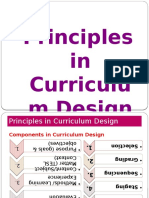 01. Principles Incurriculumdesign