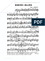 Arsenic Blues - Marc Lanjean - Orchestration Complète