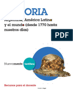 Resumen, Historia de La Argentina