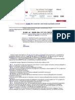 Ordinul Nr. 3699 2015 Pentru Aprobarea Procedurii de Soluţionare a Deconturilor Cu Sume Negative de Taxă Pe Valoarea Adăugată - Copy - Copy