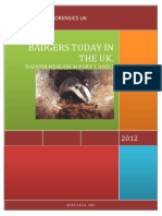 Badger Research 2011