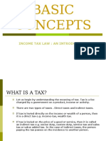 Basic Concepts Tax
