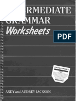 Intermediate Grammar Worksheets