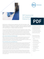 Sap Solutions Medical Device Care Industries Supply Chain Compliance