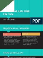Pim 1034 Haji Dan Umrah