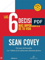 Las 6 Decisiones MA!s Important - Sean Covey